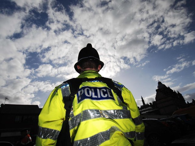 Police attended a large gathering of youths who they said were mostly very drunk in Buxton on Tuesday night