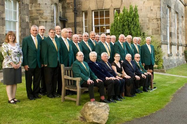 Alfreton Male Voice Choir.