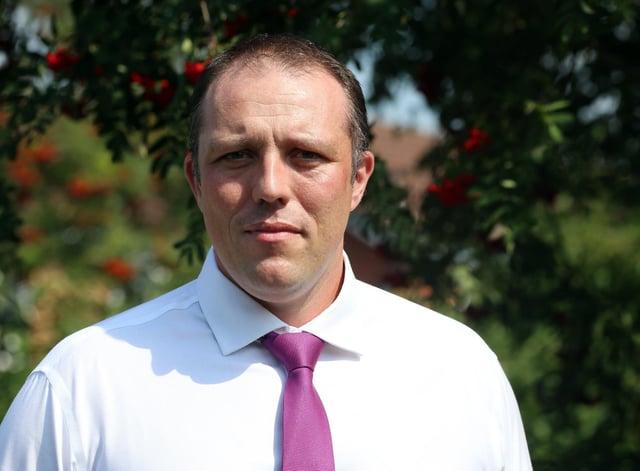 Dean Wallace, Derbyshire public health director.