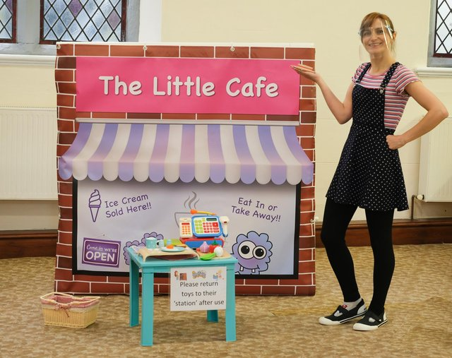 Holly Howe founder of Busy Little Monster's role play village is excited to welcome children to come and play from June 17.
