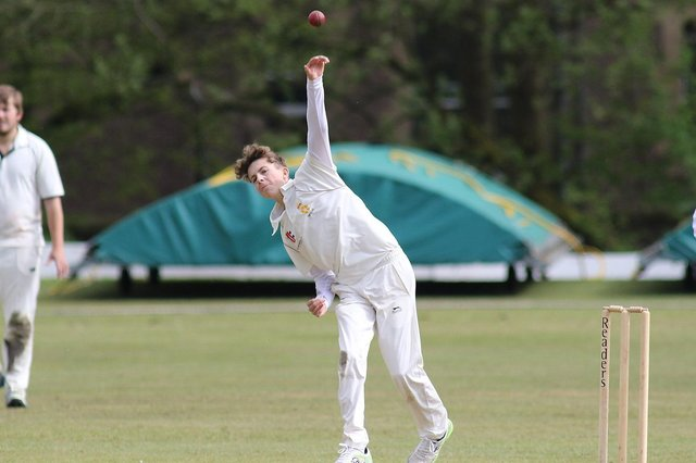 Fran Slater took four wickets for just seven runs in the win over Stainsby Hall.