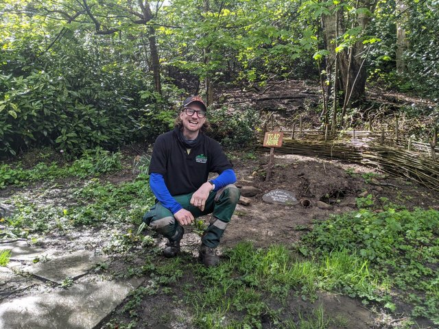 Trefor Jones is the new Whaley Bridge park ranger and has big plans for bringing the community together in the memorial park