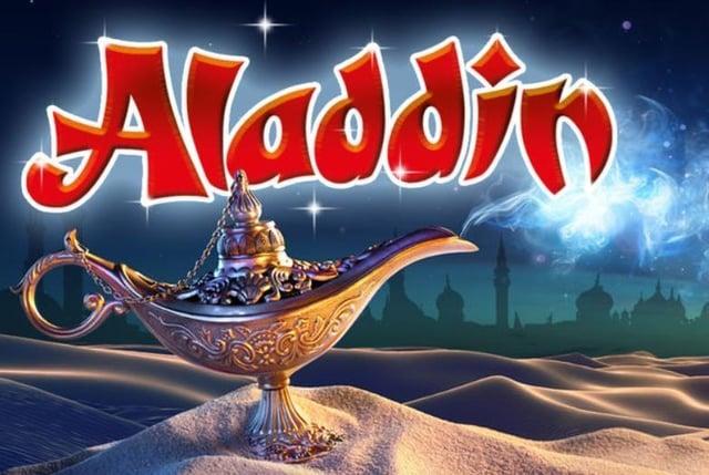 Aladdin at Buxton Opera House.