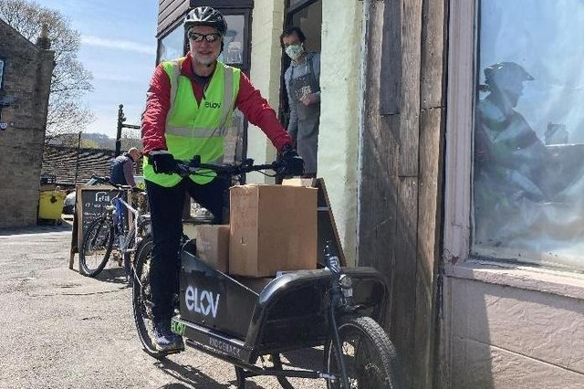 How could local delivery transport be made more eco-friendly?