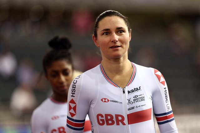Dame Sarah Storey lwon another gold medal in a Team GB one-two. (Photo by Bryn Lennon/Getty Images)