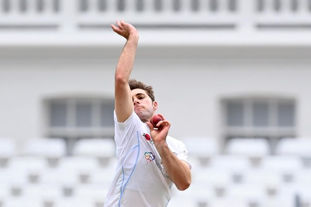 Michael Cohen has signed a new Derbyshire deal. (Photo by Laurence Griffiths/Getty Images)