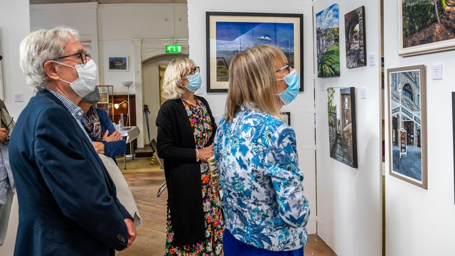 The Buxton Spa Art Prize exhibition is open every day at the Green Man Gallery until July 25.