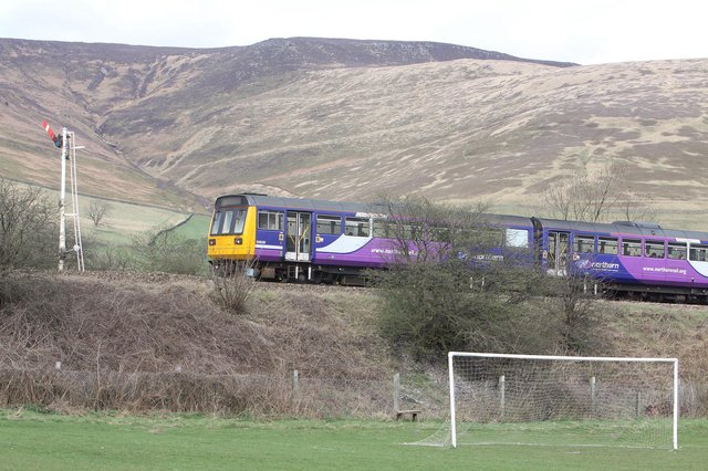 The Government has announced £137 million investment in the Hope Valley line in the Peak District. Picture: Jason Chadwick