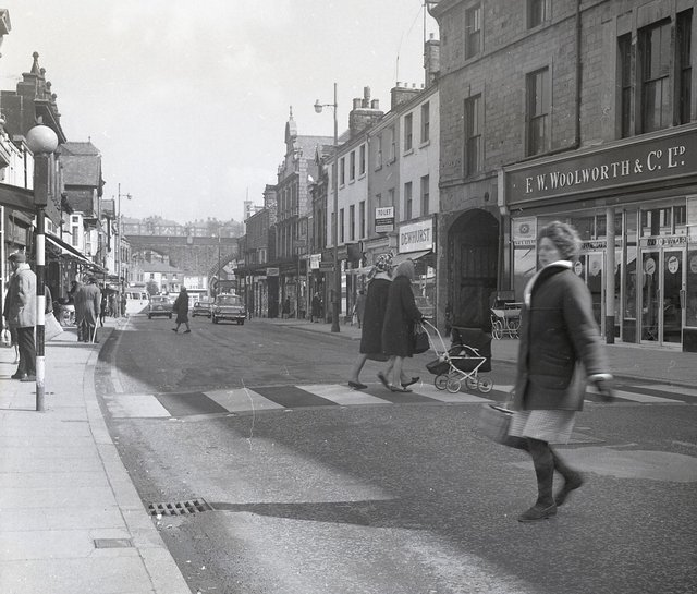 Buxton Advertiser archive, March 1966, Spring Gardens Buxton