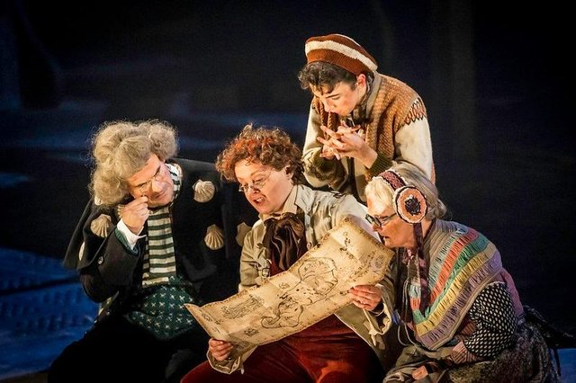A production of Robert Louis Stevenson's classic Treasure Island by the National Theatre. Photo by Johan Persson.