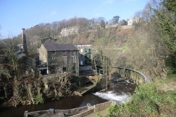 Torr Vale Mill occupies an iconic location on the river Goyt.