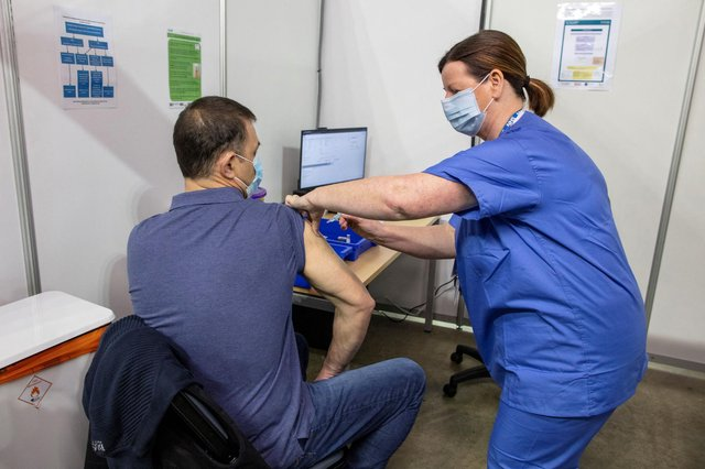 NHS data has shown the number of people who have been vaccinated in each area of the High Peak