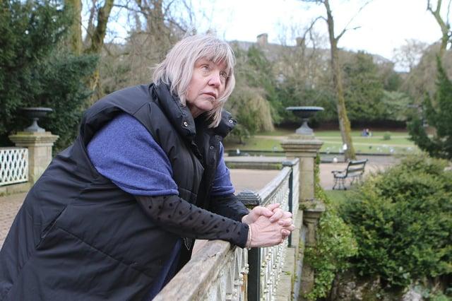 Funeral celebrant Fiona Sloman