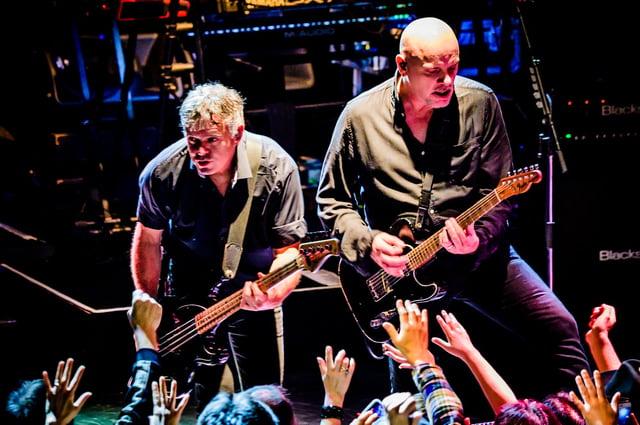 The Stranglers. Photo by Hiroki Nishioka.