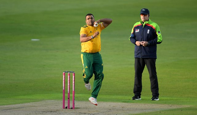 Samit Patel was the Notts Outlaws match-winner. (Photo by Alex Davidson/Getty Images)
