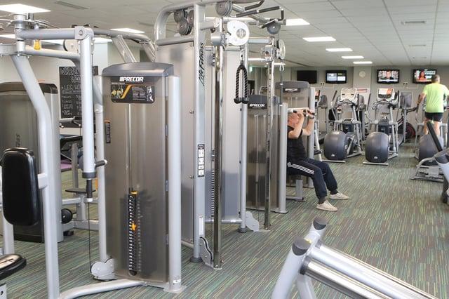 New gym equipment at Chapel Lesiure Centre