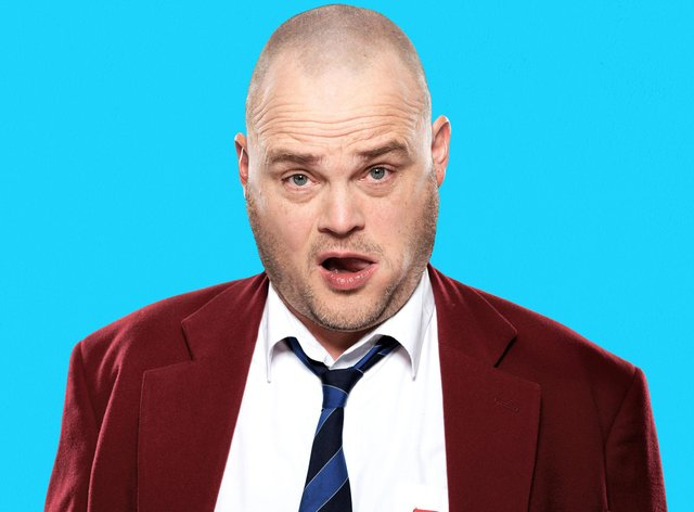 Al Murray, aka The Pub Landlord,  is touring  his new live show to Buxton this summer.