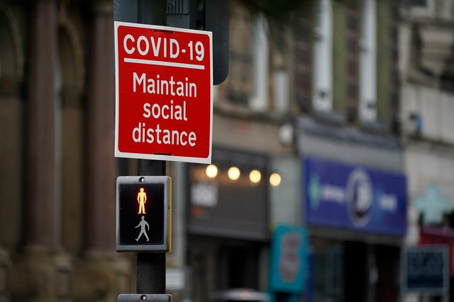 Derbyshire police issued 176 Covid fines in the most recent week alone. Photo: Christopher Furlong/Getty Images