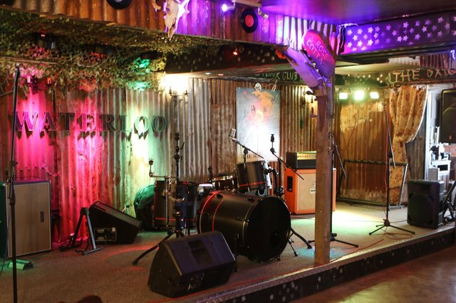 The new live music venue at the Waterloo Taddington
