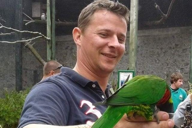 Richard Price-Jones is raising money for the High Peak advice charity which helped him turn his life around.