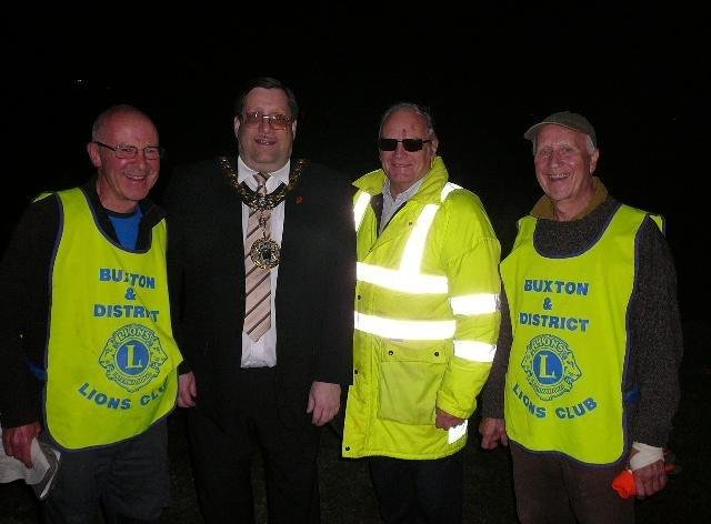 The Buxton Lions organised the community bonfire for 54 years but are now stepping away from it but it will continue under a new organiser