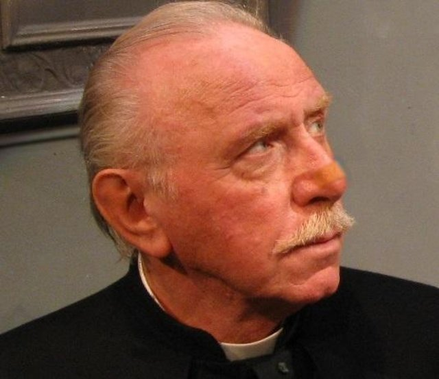 John Lyons will play Father Brown in A Murderer in the Mirror at Chesterfield's Pomegranate Theatre in July.
