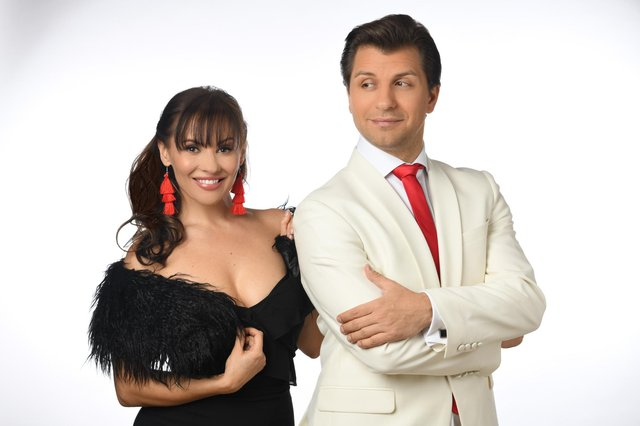 Anya Garnis and Pasha Kovalev are co-creators of Rise Up With Stars.