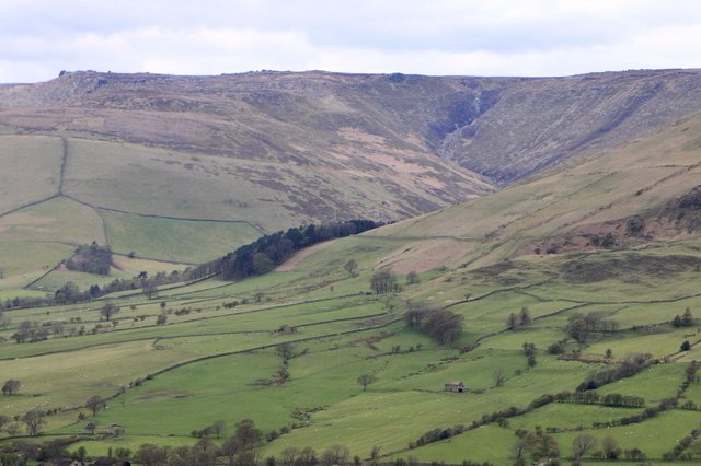 Kinder Scout seen from Mam Tor