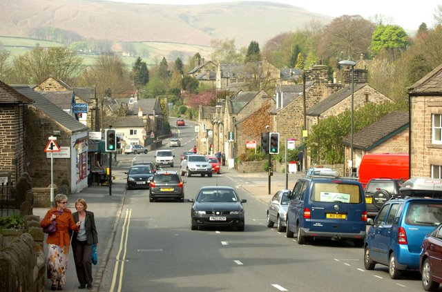 Hathersage has been listed as one of England's hidden gems.